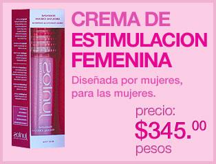 Juntos Estimulante femenino en Crema