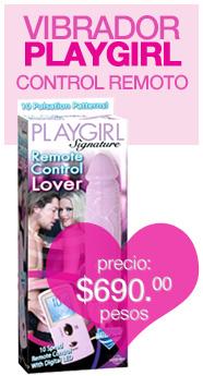 PlayGirl Lover Vibrador a Control Remoto